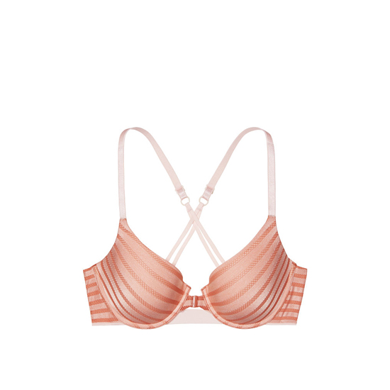 VICTORIA\'S SECRET Demi Bra Front-Close Ginger Glaze On Sale
