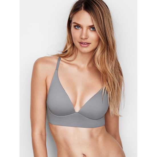 VICTORIA'S SECRET Easy Plunge Bra Sterling Pewter On Sale