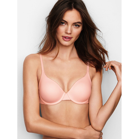 VICTORIA'S SECRET NEW! Perfect Coverage Bra Angel Pink On Sale
