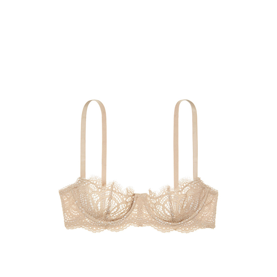 VICTORIA\'S SECRET NEW! The Unlined Uplift Bra Sugar Cookie On Sale