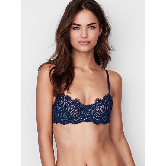 VICTORIA\'S SECRET The Unlined Uplift Bra Ensign Lace On Sale