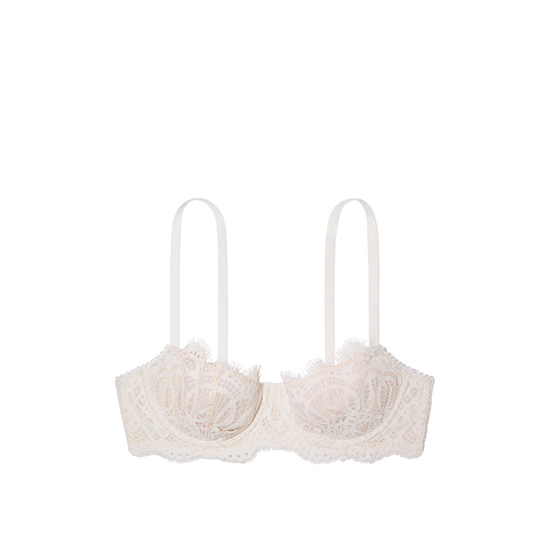 VICTORIA\'S SECRET NEW! The Unlined Uplift Bra Coconut White On Sale