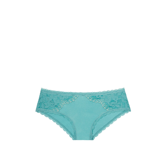 VICTORIA\'S SECRET NEW! Lace Hiphugger Panty Cozumel Teal On Sale