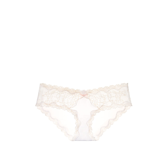 VICTORIA'S SECRET Lace-trim Hipkini Panty White On Sale