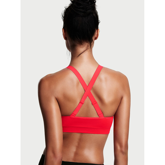 VICTORIA\'S SECRET NEW! Strappy-front Seamless Sport Bra Ignited On Sale
