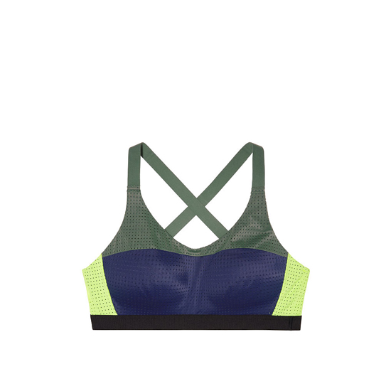 VICTORIA\'S SECRET Lightweight by Victoria Sport Bra Inkblot Bold Blocking On Sale