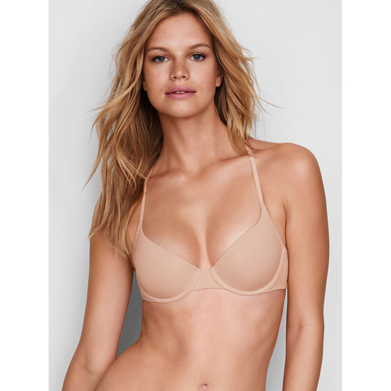 VICTORIA'S SECRET NEW! Lightly Lined Demi Bra Black Lace On Sale