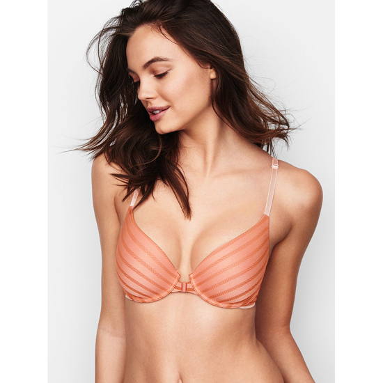 VICTORIA'S SECRET Demi Bra Front-Close Ginger Glaze On Sale