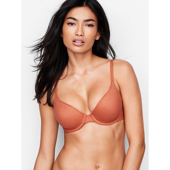 VICTORIA'S SECRET NEW! Perfect Coverage Bra Ginger Glaze On Sale
