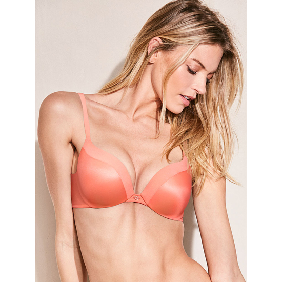 VICTORIA'S SECRET NEW! Add-1½-Cups Push-Up Bra Lip Smacker On Sale