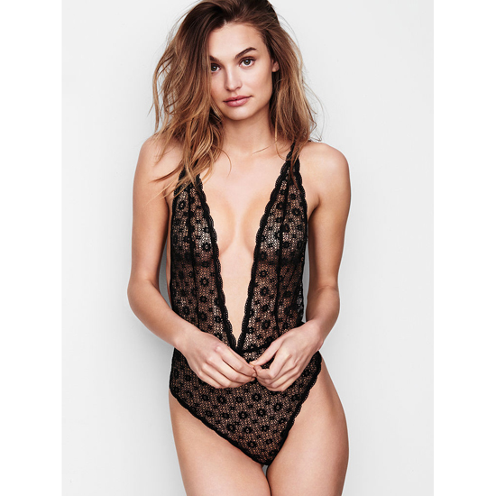 VICTORIA'S SECRET Teddies & Bodysuits Black On Sale