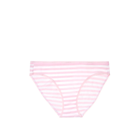 VICTORIA'S SECRET NEW! Bikini Panty Pink Stripe On Sale