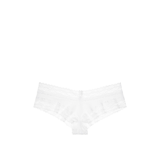 VICTORIA'S SECRET NEW! Lace-waist Cheeky Panty White On Sale