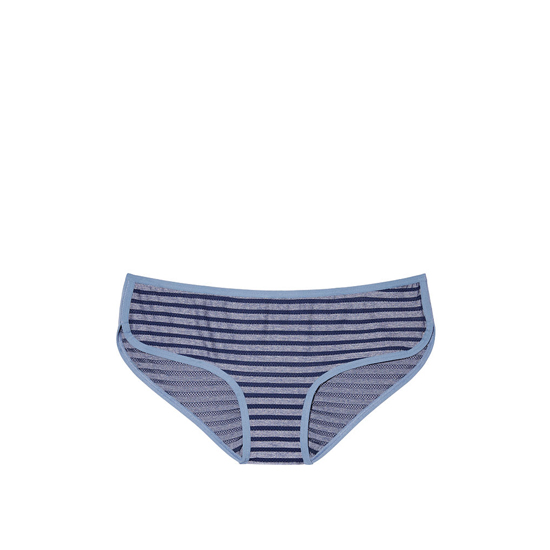 VICTORIA'S SECRET NEW! Marl Hipster Panty Ensign Blue Shadow Stripe On Sale