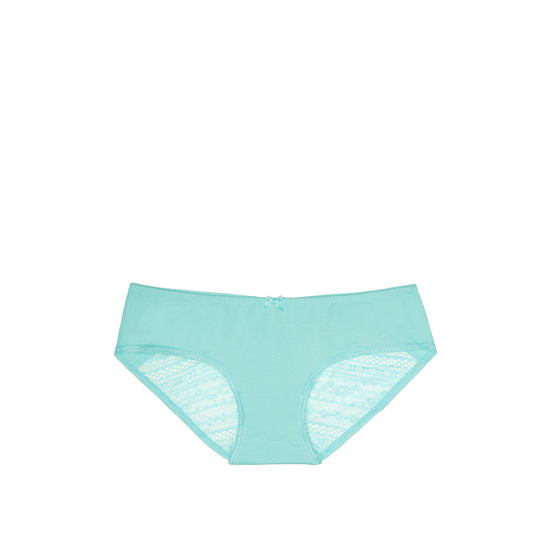 VICTORIA'S SECRET NEW! Heart Ruched-back Hiphugger Panty Aqua Splash On Sale