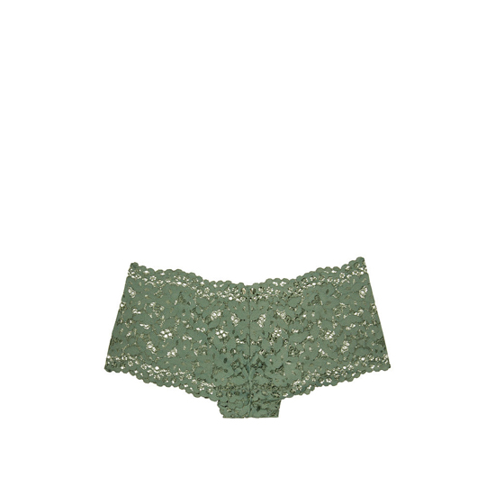 VICTORIA'S SECRET The Floral Lace Sexy Shortie Cadette Green On Sale