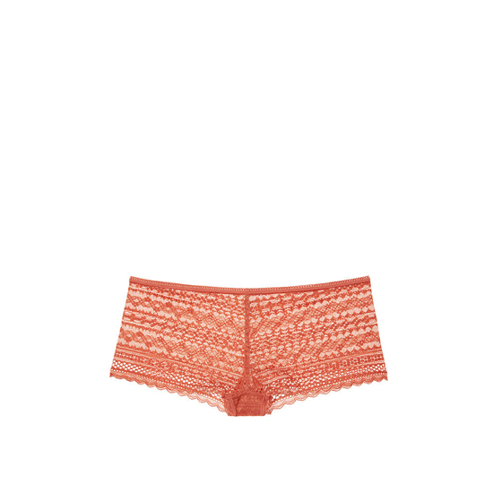 VICTORIA'S SECRET NEW! Lace Shortie Panty Ginger Glaze On Sale