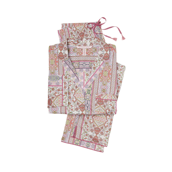 VICTORIA'S SECRET NEW! The Mayfair Pajama Pink Paisley Stripe On Sale